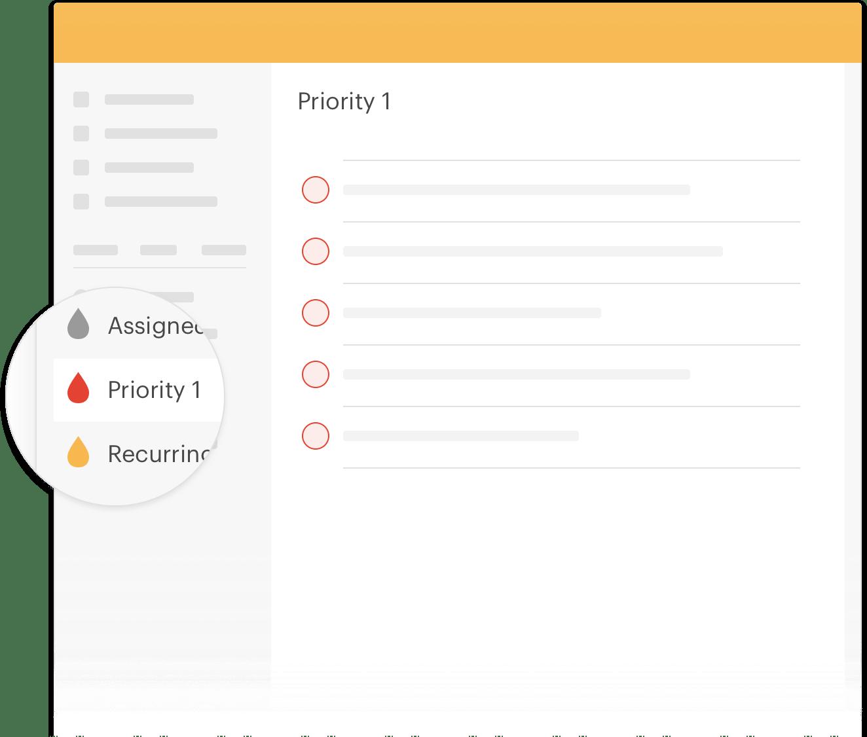 Créez des affichages personnalisés pour vos tâches