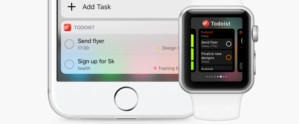 Todoist for iOS 10